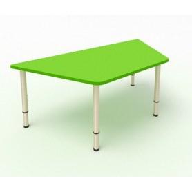 Детский стол Трапеция МДФ Зеленая мамба