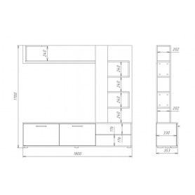 Гостиный гарнитур Мираж-1