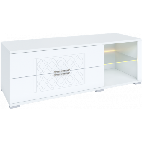 ТВ-тумба Тиффани М03 с комплектом подсветки