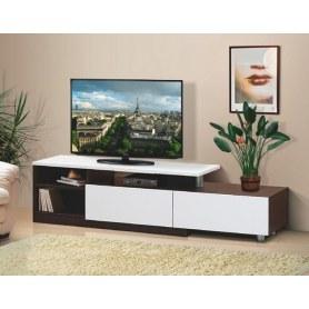 ТВ-тумба 9, цвет Белый, Венге