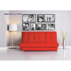 Прямой диван Корсика 2 new (Боннель)