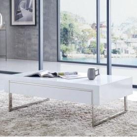 Журнальный стол CT-140 белый