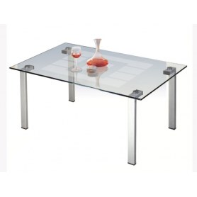 Журнальный стол Квадро-23 Аллюминий