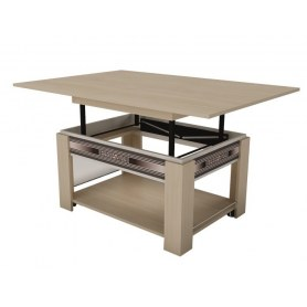 Стол трансформер Агат-24.10 Дуб