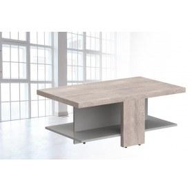 Журнальный стол Coffee СТ 1060, дуб каньон/серый