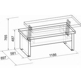 Стол-трансформер Wyspaa 219