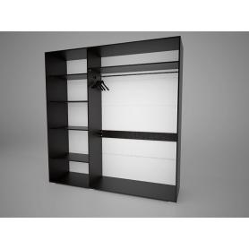 Шкаф-купе Арктур 2.0м, плитка 20 (Венге)