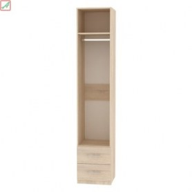 Шкаф Риал (H18) 230х45х45 ручка рейлинг, ЯАТ