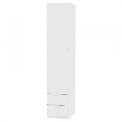 Шкаф Риал (H18) 230х45х45 ручка торцевая TR-2, Белый