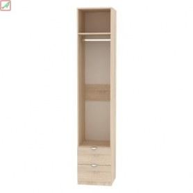 Шкаф Риал (H18) 230х45х45 ручка торцевая TR-2, Венге-ДМ