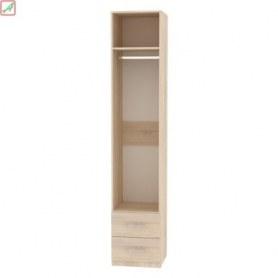 Шкаф Риал (H18) 230х45х45 ручка рейлинг, Венге