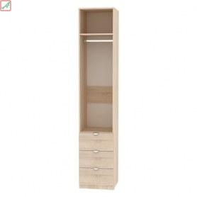 Шкаф Риал (H16) 230х45х45 ручка торцевая TR-2, Венге