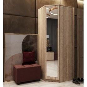 Шкаф угловой Уют, с зеркалом ПУ5З, дуб сонома