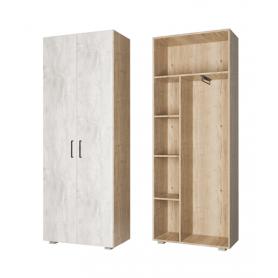 Шкаф двухстворчатый Джара, ПД1, Джара темная/Руанда