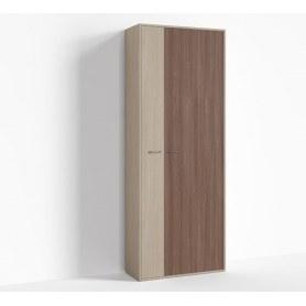 Шкаф широкий правый цвет 1, Крокус, ПР-ШС-1-3 Ясень шимо светлый- Ясень шимо темный
