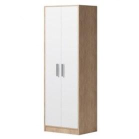 Шкаф для одежды Enter (ПР) дуб сонома/белый
