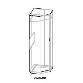 Шкаф угловой Комфорт 1, Дуб Сонома
