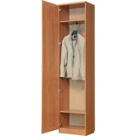 Шкаф 107 с выдвижной штангой, цвет Венге