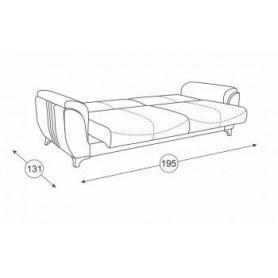 Прямой диван Эмма, Арт. ТД 610