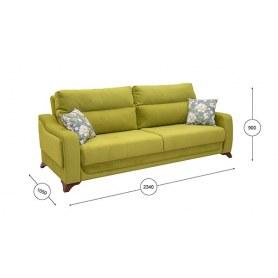 Прямой диван Фрея Арт. ТД 194
