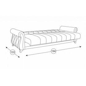 Прямой диван Роуз Арт. ТД 256