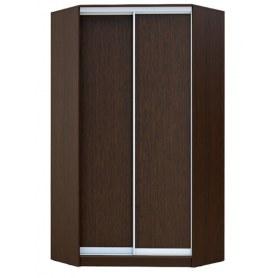 Угловой шкаф ГШУ-23-4-10-11, 2 двери ДСП, Венге