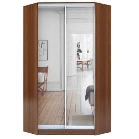 Угловой шкаф ГШУ-24-4-10-55, 2 двери Зеркало, Ноче гварнери