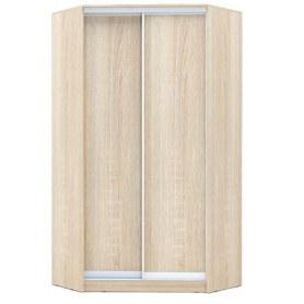 Угловой шкаф ГШУ-23-4-10-11, 2 двери ДСП, Дуб Сонома
