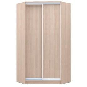 Угловой шкаф ГШУ-24-4-10-11, 2 двери ДСП, Ясень шимо светлый