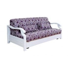 Прямой диван Глория, 1600 ППУ, цвет белый