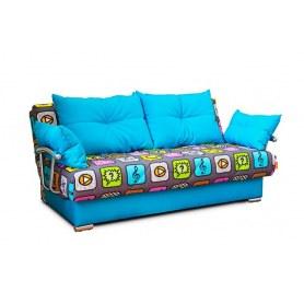 Прямой диван Чикаго 01 ППУ