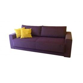 Прямой диван Тридэ МД, с полками