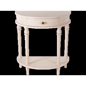 Консольный столик Беленый дуб