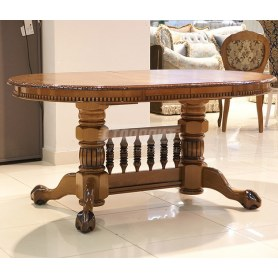 Кухонный стол раздвижной Азия орех