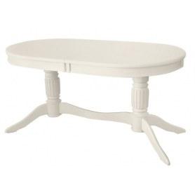 Кухонный стол раздвижной Зубр-1 слоновая кость