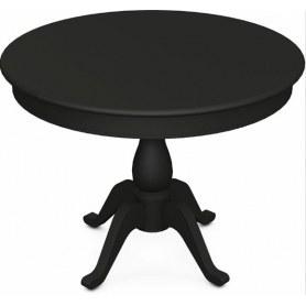Обеденный раздвижной стол Фабрицио-1 исп. Круг 1000, Тон 12 (Морилка/Эмаль)