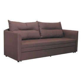 Прямой диван Беатрис-4, oslochokolate