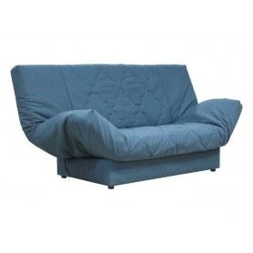 Прямой диван Ивона, темпо7синий