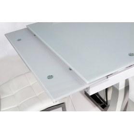 Кухонный стол раскладной DT43 белый