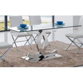 Кухонный стол FT-151 прозрачный