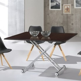 Кухонный стол раскладной В2166 венге