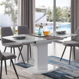 Кухонный стол раскладной DT2017-6 (120см) белый