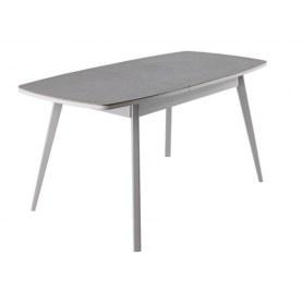 Кухонный стол Артктур, Керамика, grigio серый, 51 диагональные массив серый