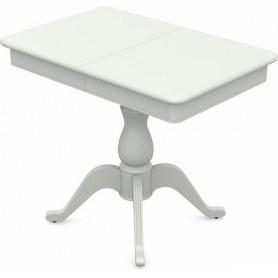 Обеденный раздвижной стол Фабрицио-1 исп. Мини 900, Тон 9 (Морилка/Эмаль)