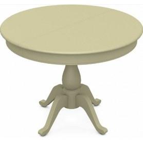 Обеденный раздвижной стол Фабрицио-1 исп. Круг 1000, Тон 10 (Морилка/Эмаль)