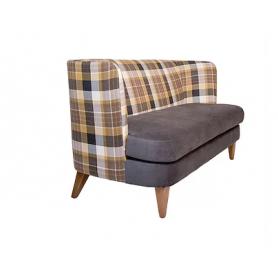 Прямой диван Бизон 1600х750х850