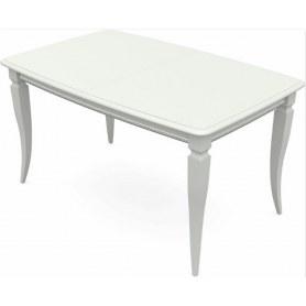 Обеденный раздвижной стол Сибарит 160х90, тон 9 (Морилка/Эмаль)