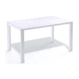Кухонный стол Kenner LE1400 белый/сосна белая
