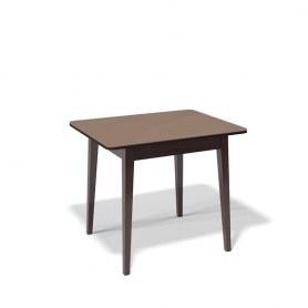 Кухонный раздвижной стол Kenner 900M (Венге/Стекло капучино сатин)