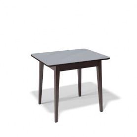 Кухонный раздвижной стол Kenner 900M (Венге/Стекло серое сатин)
